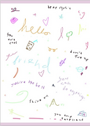 hello friend you can do anything greeting card by Ashley Rice