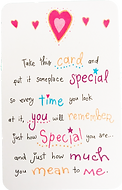 How special you are wallet card by Ashley Rice published by blue mountain arts