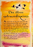 des etres extraordinaires carte escrite par Ashley Rice