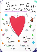 christmas card by Ashley Rice