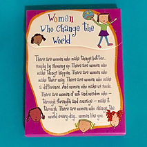 Women who change the world pocket notepad by Ashley Rice publishedby Blue Mountain Arts