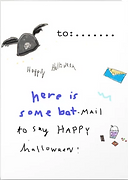 halloween card by Ashley Rice
