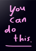 you can do this greeting card by Ashley Rice