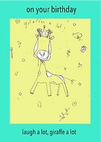 cute birthday card by Ashley Rice