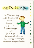 my son I love you greeting card by Ashley Rice Blue Mountain Arts
