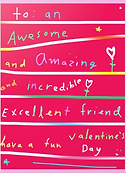 awesome friend valentine by Ashley Rice