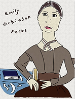 EMily DIckinson jigsaw puzzle by Ashley Rice