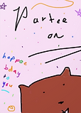 birthday crd by Ashley Rice