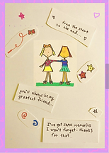 friendship card by Ashley Rice