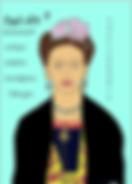 frida kahlo by Ashley Rice