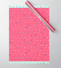 birthday cake wrapping paper by Ashley Rice