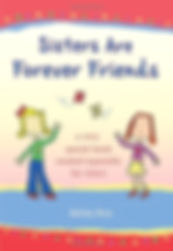 Sisters Are Forever Friends gift book by Ashley Rice with poems and illustrations