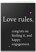 love rules card by Ashley Rice