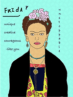 Frida Kahlo jigsaw puzzle by Ashley Rice