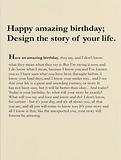 birthday card by Ashley Rice