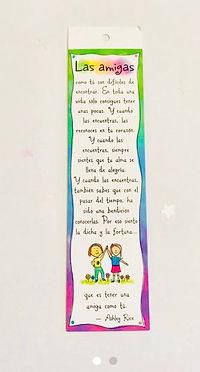IMG_3598.jpg, amigas, las amigas poema, bookmark by Ashley Rice