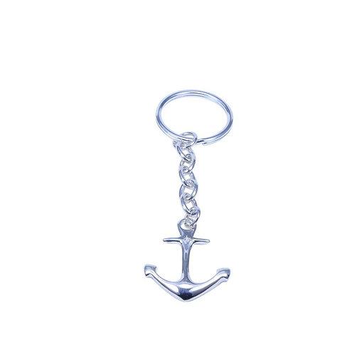 ⚥ Key Chain Anchor Silver