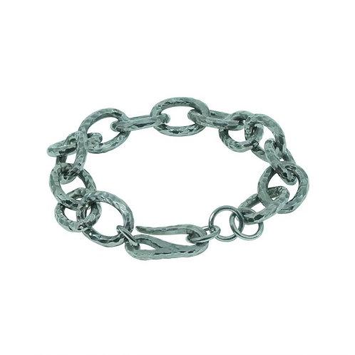 ⚥ Chain Bracelet Silver, Big