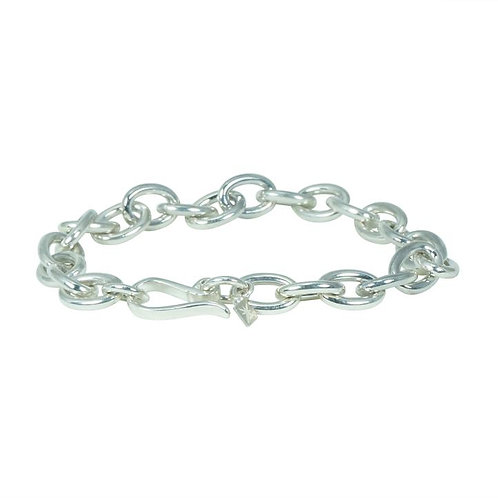 ⚥ Chain Bracelet Silver