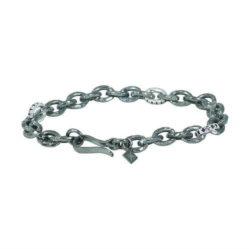Chain Bracelet Sapphire
