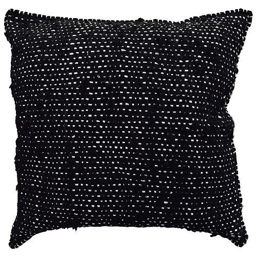 Cushion 'Macrame' Black