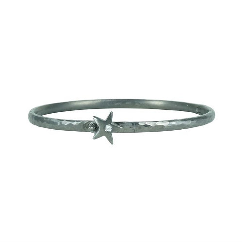 Bangle Star White Diamond