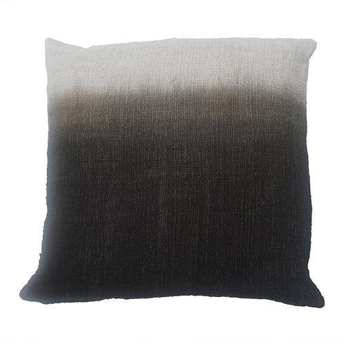 Cushion 'Dip Dye` Black