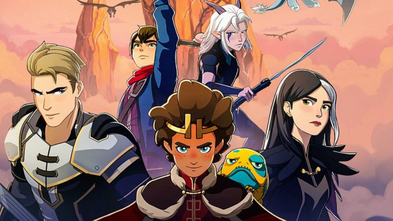 The Dragon Prince - characters