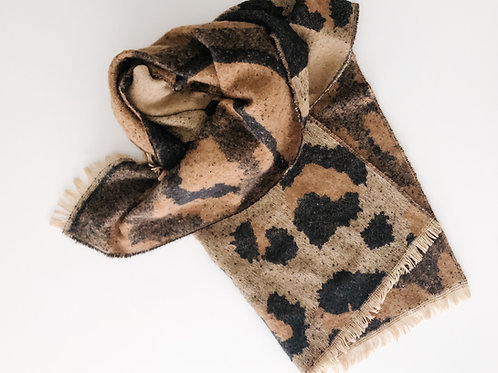 The Leopard Blanket Scarf