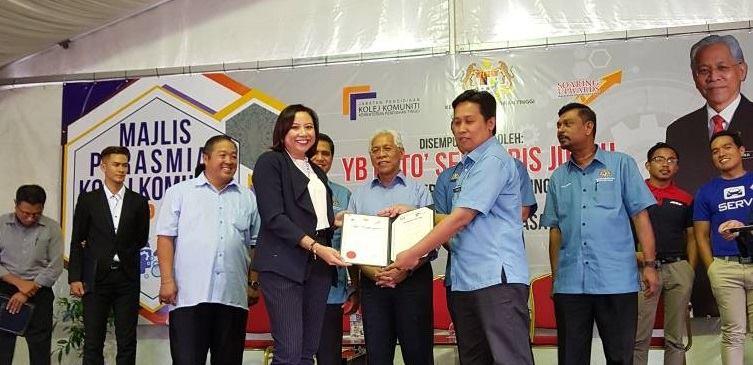 Memorandum of Understanding with Kelana Jaya Community College