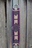 Mohair Cinch Purple & Natural Vaquero, P