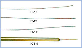 Flexible Implantable Temperature Probes