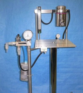 51111 Four Caster Portable Anesthesia System