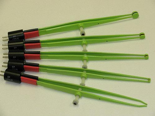 1EP-Series Titanium Plate Tweezers Electrodes, in various sizes