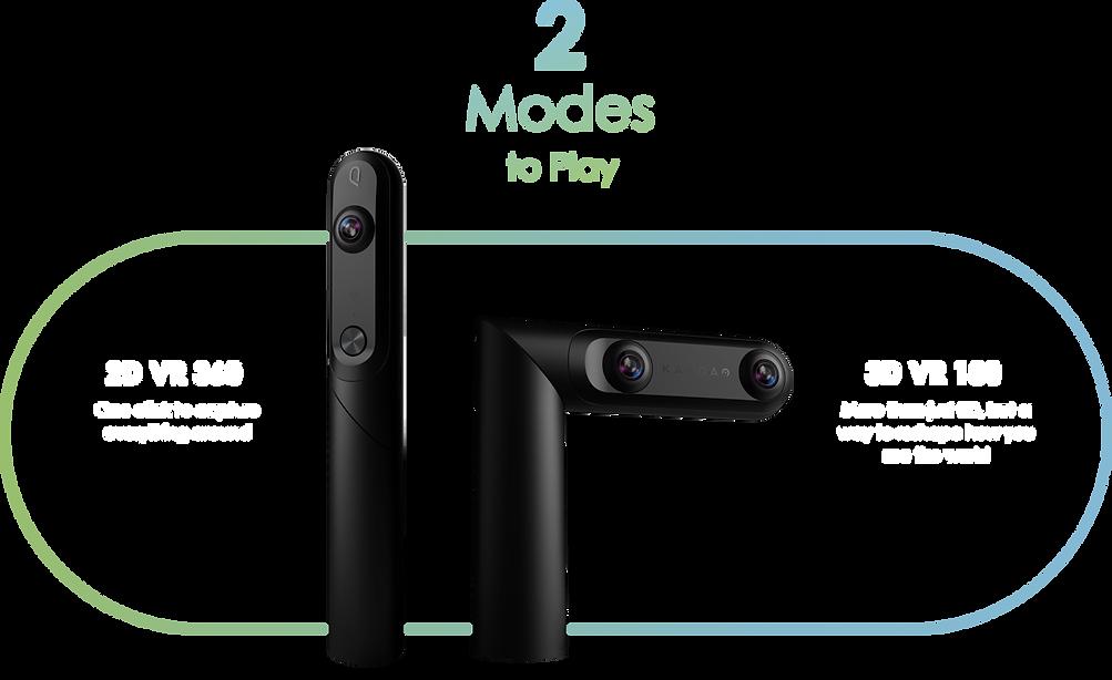2 modes