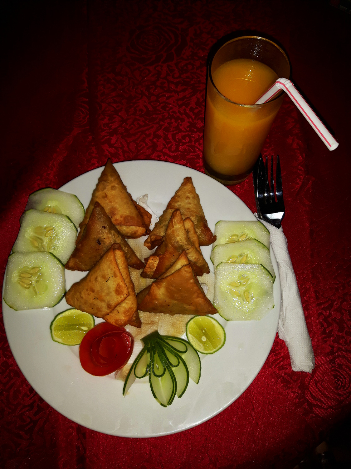 Beef and Vegetable Samosas