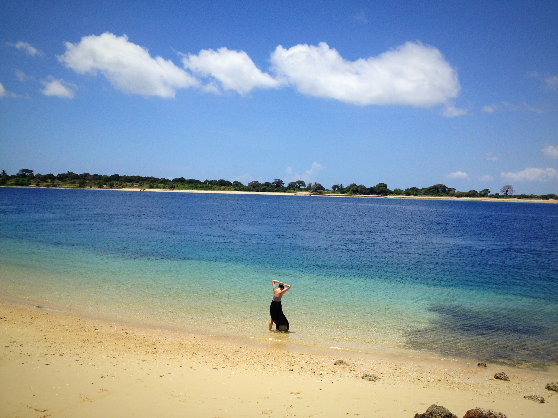 Schangani beach