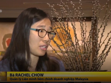 Interview with Vietnam National TV