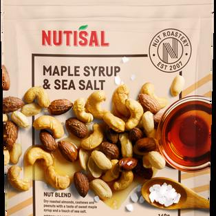 Maple Syrup & Sea Salt 160g