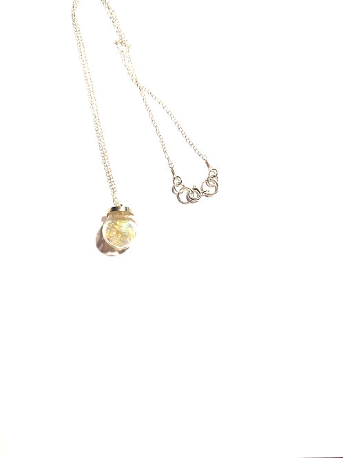 Opal in a Globe