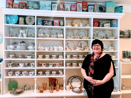 North Street Cafe Brigus - The Story of the Wall of Tea Cups