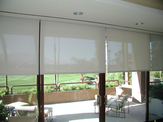 Energy Efficient Solar Shades