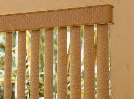 Insulating Properties of Vertical Blinds.