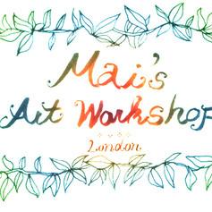 Mai's Art workshop photos