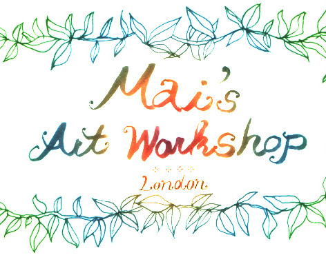Mai's Art workshop photos