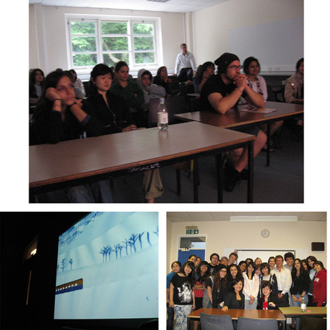 Lectures at ISCA/University of Arts London