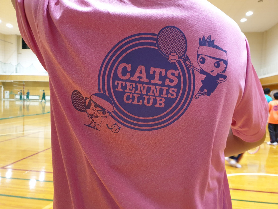 Cats Tennis Club pink1