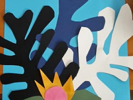 Matisse y Hundertwasser en Escola Museaka