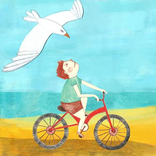 Pájaros de Mar y Ciudad, Cuento Infantil, Música infantil, Album Ilustrado Infantil