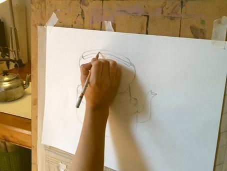 Clases particulares de dibujo, pintura y grabado.